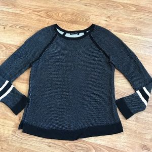rag & bone Black Knit Sweater Soft M (Small)